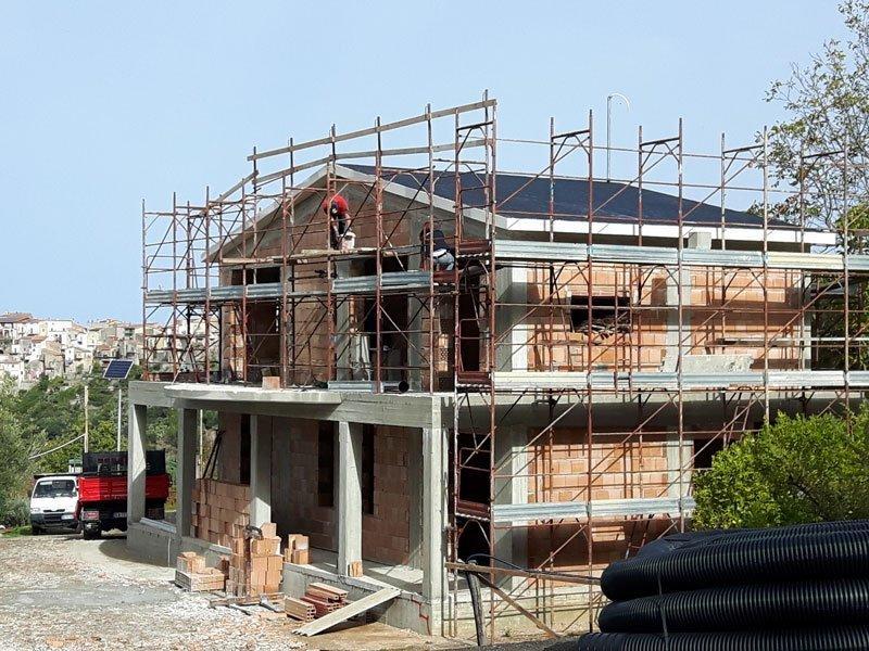 costruzione villa scalea