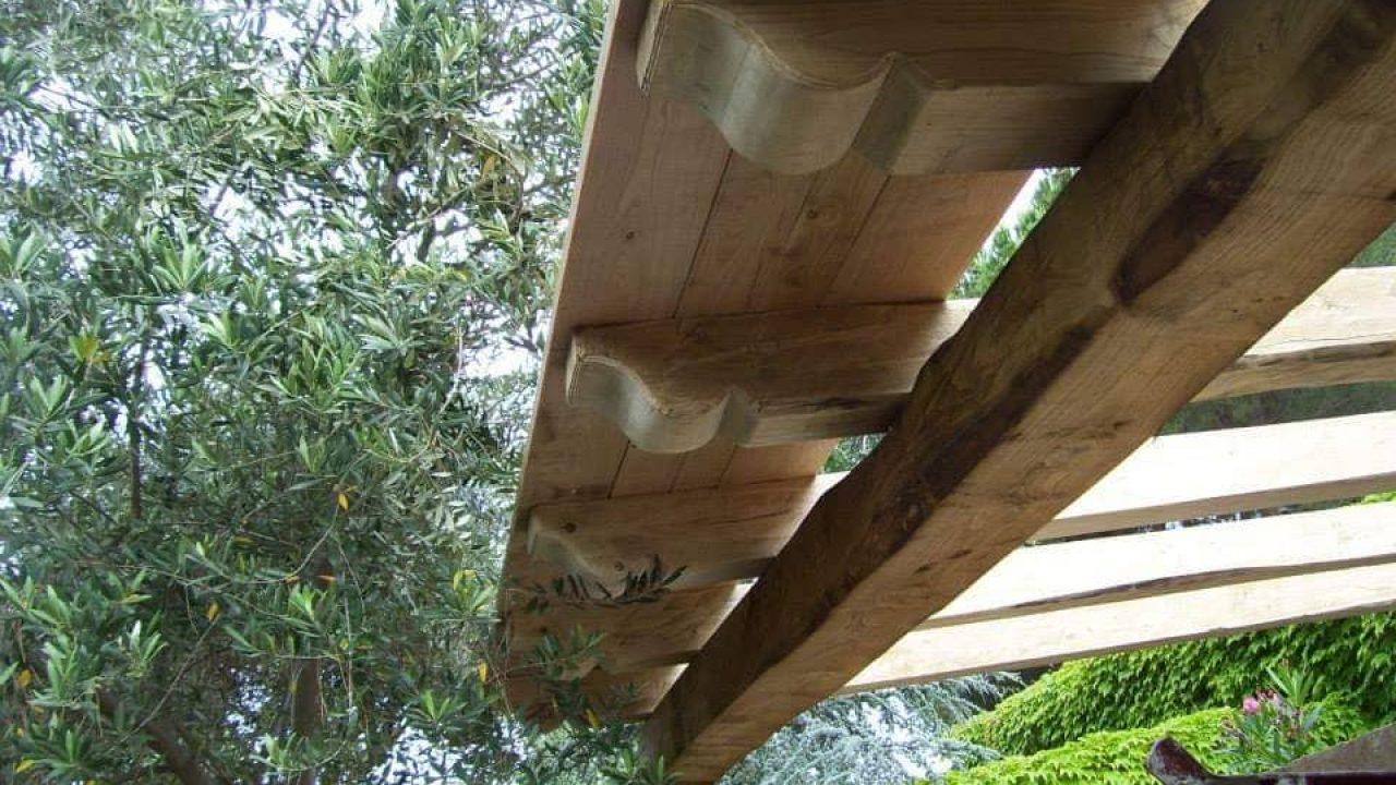Luci Per Tettoia In Legno tettoia in legno lamellare |